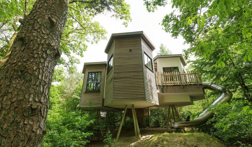 Abnders wohnen im Baumhaus