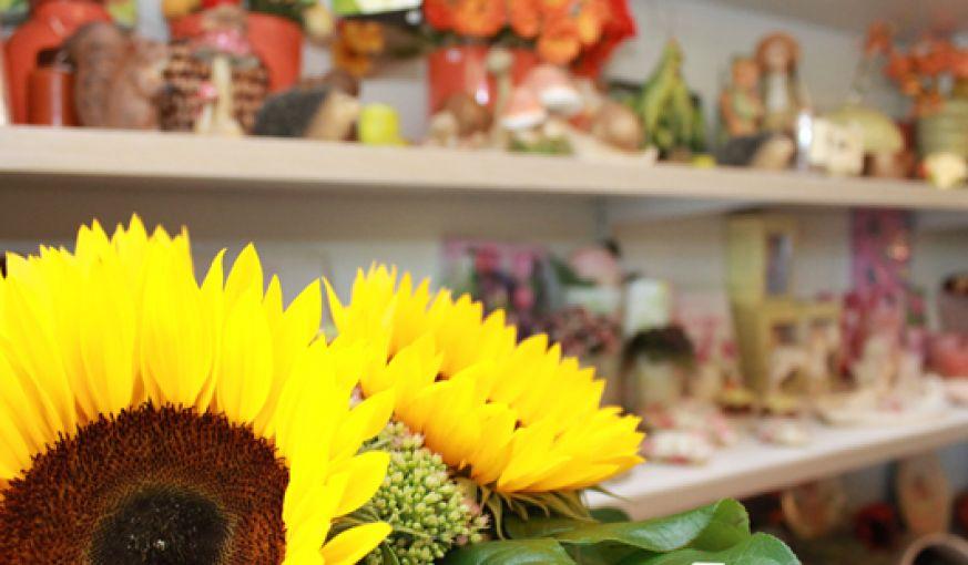 Blumen- und Pflanzenarrangements aller Art