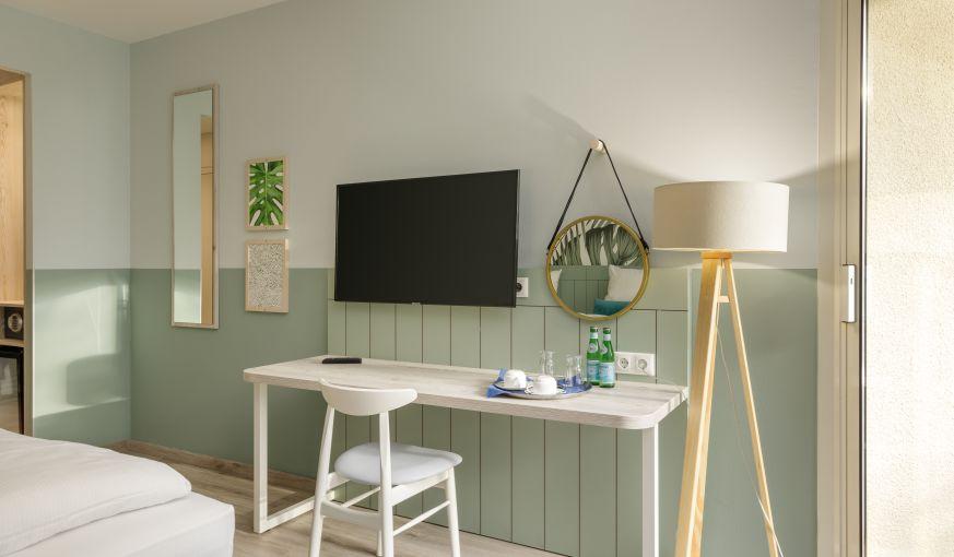 Hotelzimmer für die Auszeit & zum Gedankensammeln