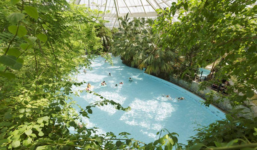 Subtropisches Badeparadies Aqua Mundo