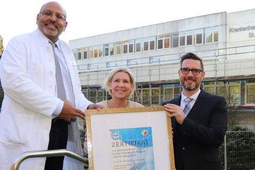 St. Adolf-Stift wird 7. DGAV-zertifiziertes Zentrum für Magenchirurgie